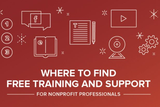 Where to find free training and support for nonprofit professionals